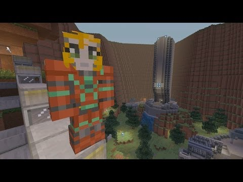 Minecraft Xbox Halo Hunger Games