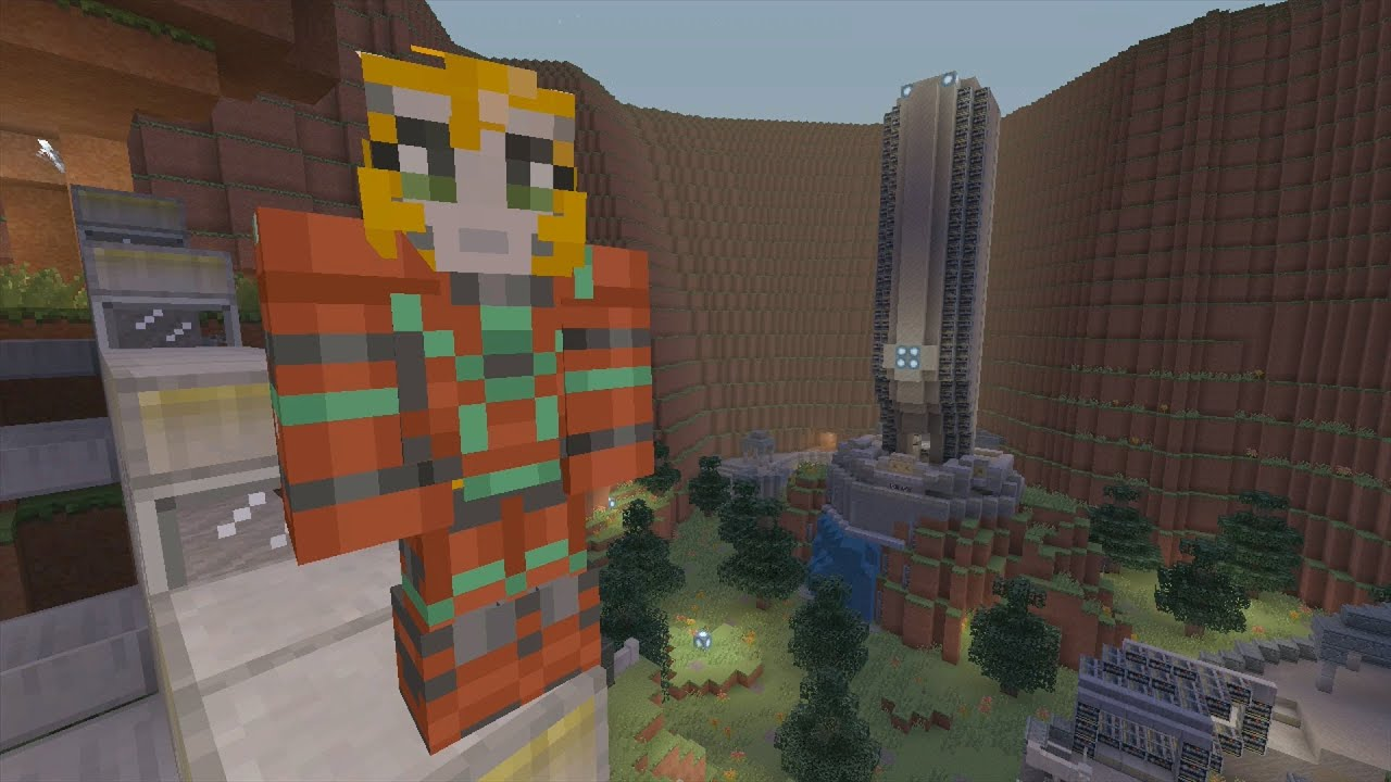 Minecraft Xbox Halo Hunger