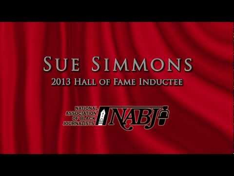 SUE SIMMONS HONOR- NABJ 2013 Hall of Fame