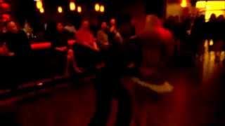 Salsa dancing to Santana