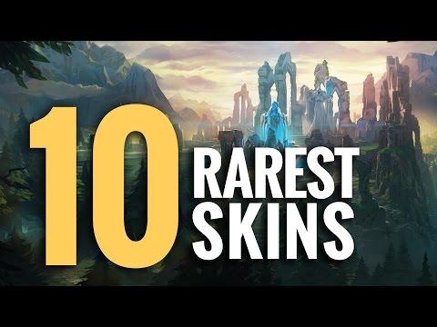 Top 10 - Rarest LoL Skins 2015