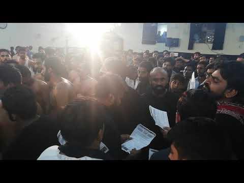 Ni Karnay Ghazi nay Jang Zainab sa Zawar Markazi Matmi Dasta Islamabad