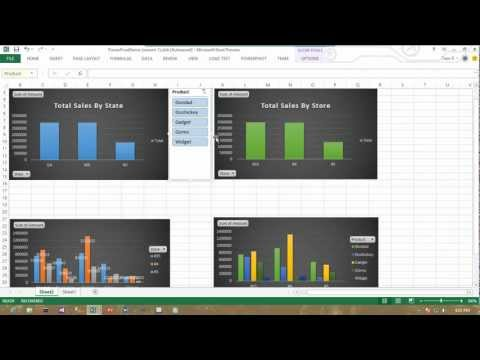 Excel Dashboards with PowerPivot Tutorial