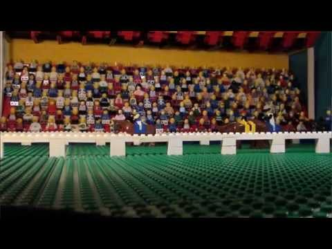 Grand National 2013 in LEGO