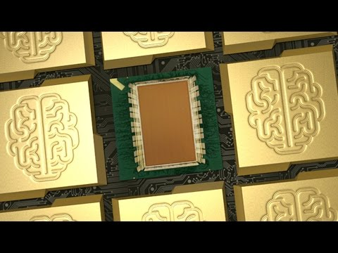 This IBM Chip Computes Like The Human Brain with Very Little Power