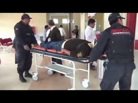 SERENAZGO CAJAMARCA - Carnavalero muerto/Taxista asaltado/Vigilante Herido/ 20-01-14