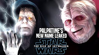 Palpatine's New Name Revealed In The Rise Of Skywalker (Star Wars Episode 9)