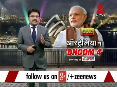 Sydney visit: Big enthusiasm for PM Modi's performance at Allphones Arena