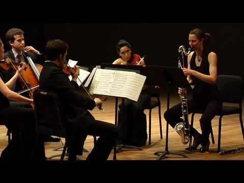 "Ensemble ACJW Performs David Bruce's ""Gumboots"""