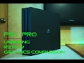 PS4 Pro Unboxing, Review, Graphics and specs comparison with PS4 - India