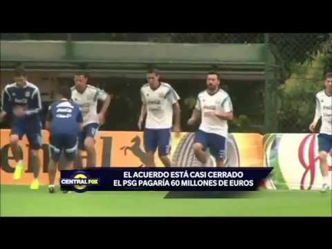 ¿Ángel Di María al PSG?