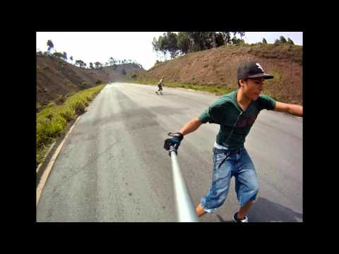 A Perfect Day - Downhill Skateboarding