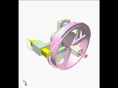 Double cam mechanism 1