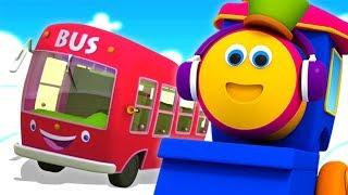 Bob o trem | rodas do ônibus | ônibus canção | rimas de berçário | Bob The Train Português