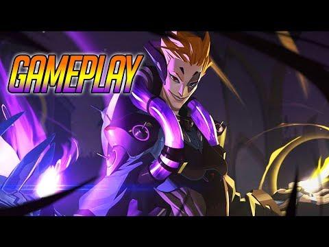 Moira Gameplay - New Overwatch Hero