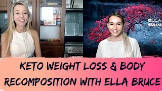 Advanced Keto Weight Loss & Body Recomposition PART 1 with Ella Bruce