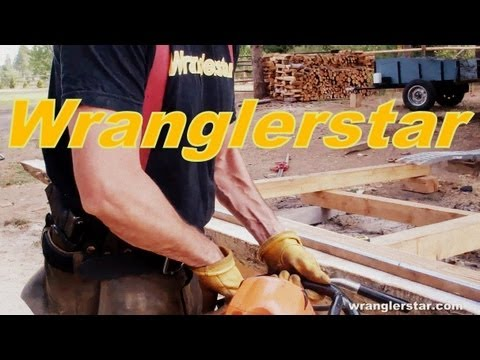 Building A Timber Framed Cabin Episode 9