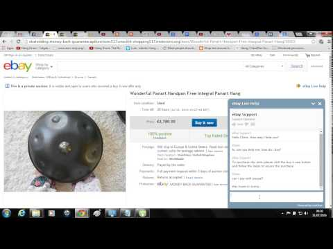 eBay Hacked - XSS Redirect Phishing Scam - PANArt Hang / HandPan