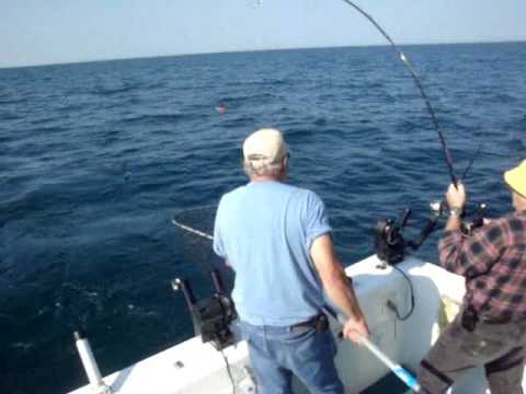 New Addition Lake Michigan Salmon Fishing Charters St Joseph Michigan 8-14-09