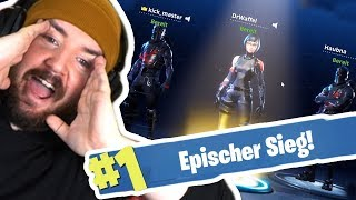 1 Fortnite WIN mit den BUDDIES!
