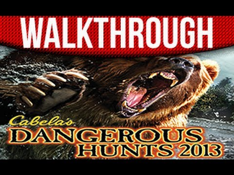 Cabela's Dangerous Hunting 2013 Walkthrough Part 1 Take The Firs Shot