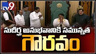 Pocharam Srinivas Reddy takes charge as speaker in Telangana Assembly