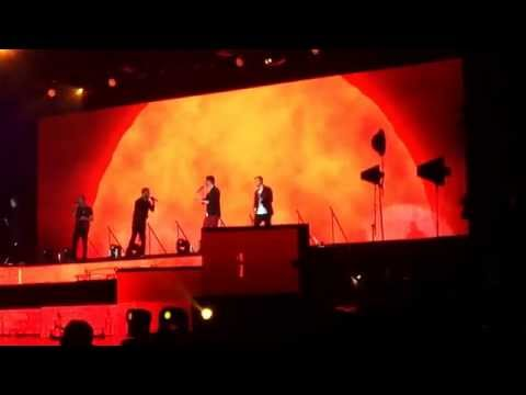 Backstreet boys live in London 2014 - Shape of my heart