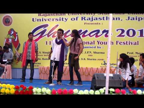 jagannath universitys award winning play at ghumar 2013 part...