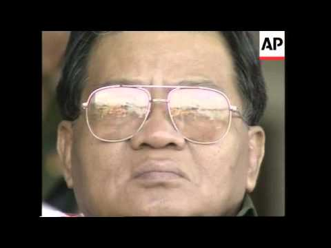 Reaction to the death of former Myanmar dictator