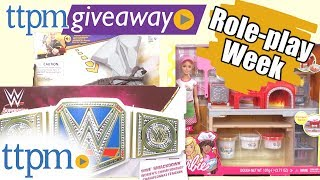 Win Role-Play toys from WWE, Avengers Infinity War, Barbie & More on #TTPMLIVE! (6/20/2018)