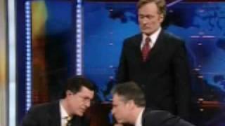"Conan Vs Colbert Vs Stewart ""Late Night Fight"" - The Trailer"