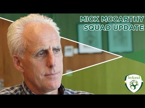 Update | Mick McCarthy