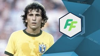Brazil legend ZICO - FIFA FOOTBALL EXCLUSIVE