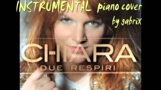 Due respiri - Chiara instrumental piano cover by gabrix