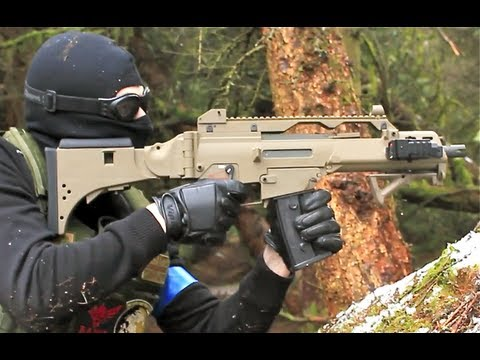 Airsoft War G36C M4 L96 Section8 Scotland HD