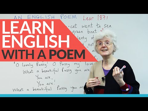 Learn English with a poem!