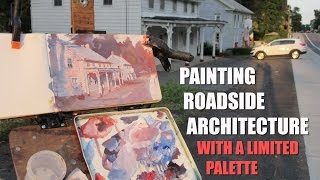 Painting Roadside Architecture with a Limited Palette