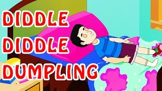 Diddle-Diddle Dumpling - Animated Nursery Rhyme in English