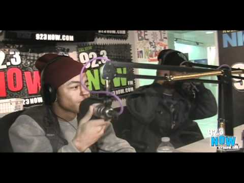 New boyz Interview with 92.3 NOW
