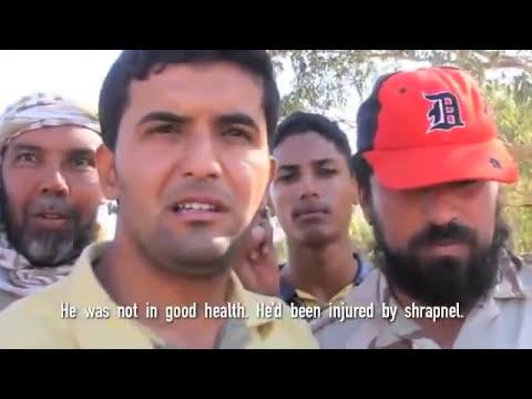 The men who found Gaddafi speak