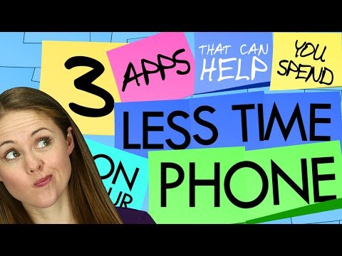 3 Apps That Can Help You Spend *Less* Time on Your Phone