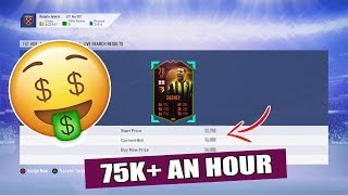 MAKE 75K EASILY AN HOUR!! SNIPING NEW SCREAM CARDS BEST PROFIT! - FIFA 19 TRADING