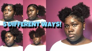 CUTE WAYS TO STYLE TWO PUFFS! | TAJAH SYMONE