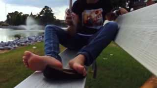 Chelle's Flats and Ebony Bare Feet at Lake Preview v1.0