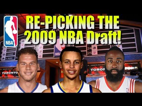 Re-Picking the 2009 NBA Draft!