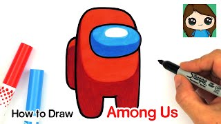 Play this video How to Draw AMONG US Game Character