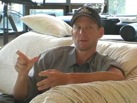 Lance Armstrong before the 2009 Tour de France