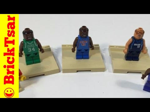 LEGO NBA Collector's Set 3565 Paul Pierce, Steve Nash, Jerry Stackhouse