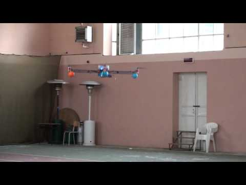 JJ-Copter First Flight (Aeroquad, Arduino Mega, Nintendo Wii WMP and Nunchuck)