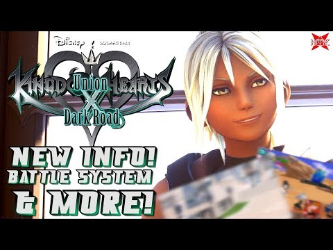 Kingdom Hearts DARK ROAD News! - Battle System + MORE!